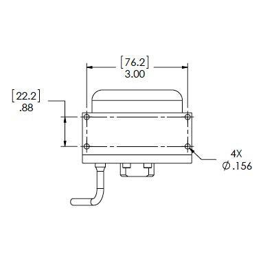 Setra Systems - 270 - Barometertrykkgiver med stor nøyaktighet ±0.03% FS og stabilitet VDC utgang 3