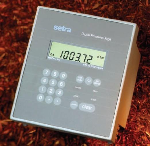 Setra Systems - 370 - Setra 370 Barometer med digitalt display 1