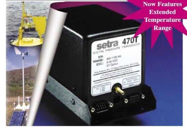 Setra Systems - 470T - Setra modell 470T Barometertrykkgiver, digital, med ekstremt stor nøyaktighet. 1