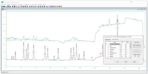Chromperfect - SL - Kromatografi, dataprogram 8