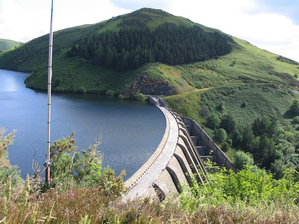 Badgernet Clywedog er et av reservoarene som drives av Severn Trent vannforsyning.