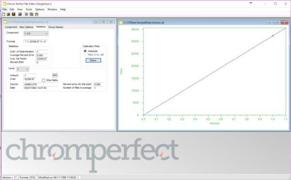 Chromperfect - SL - Kromatografi, dataprogram 16