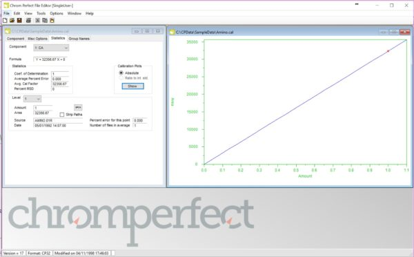 Chromeperfect - SL - Kromatografi, dataprogram 16