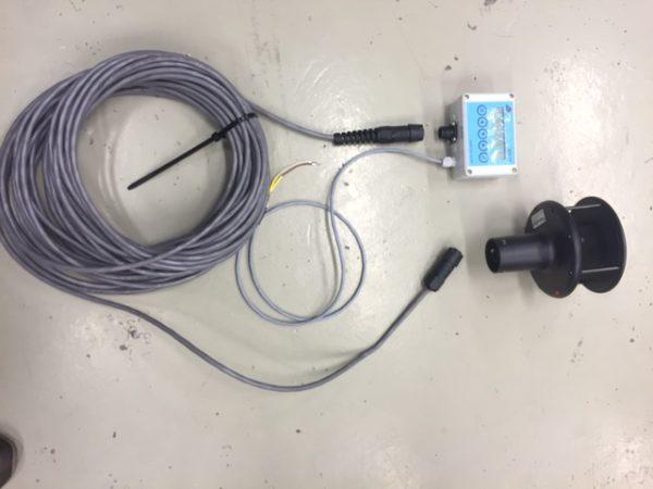 RPR - WS-15A - Display, vind og værstasjon RS232, RS422 tilkopling 2