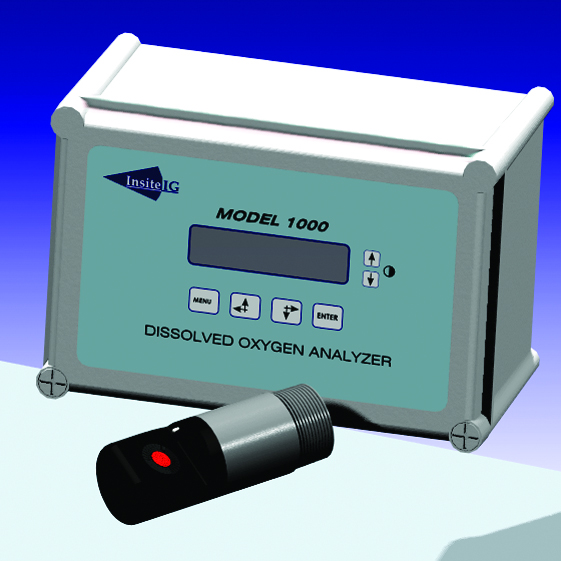 Insite IG - Modell 1000 / Modell 3100 - Oppløst oksygen, analysator 1