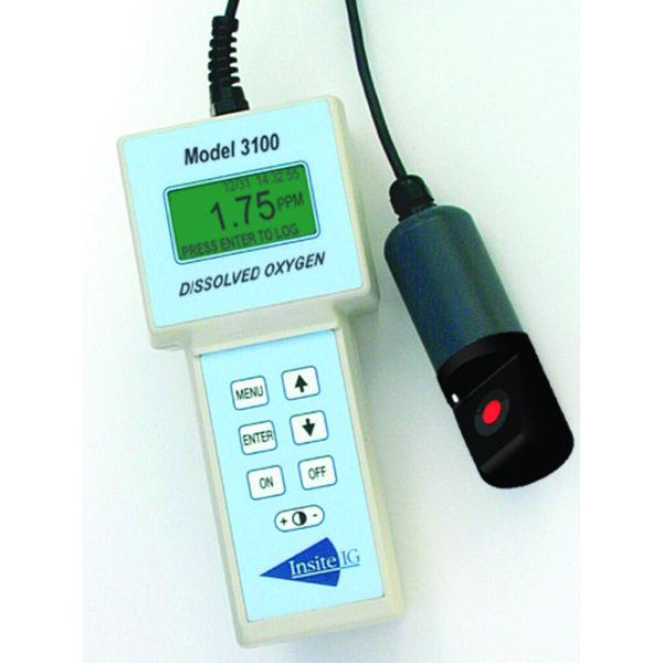 Insite IG - Modell 1000 / Modell 3100 - Oppløst oksygen, analysator 2