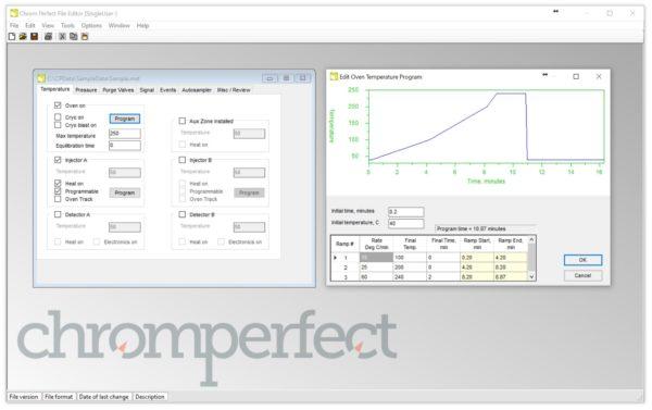 Chromperfect - SL - Kromatografi, dataprogram 2