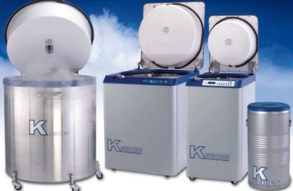 Taylor-Wharton - Serie K - Nitrogenbeholder, effektiv lagring 1