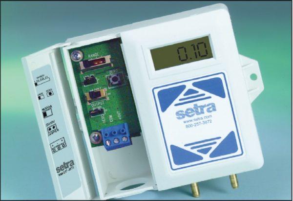 Setra Systems - 260 - Konfigurerbar trykktransmitter for lave trykk 1