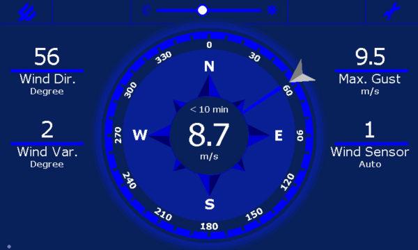 Observator Instruments - OMC 140 - Display multifunksjon, berøringsskjerm 6
