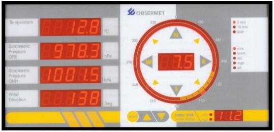 Observator Instruments - OMC-938/939 - Display, meteorologisk for skip og land applikasjon 2
