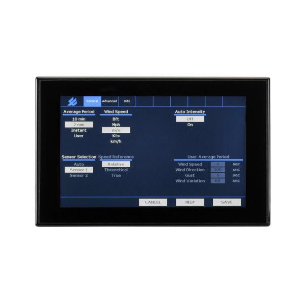 Observator Instruments - OMC 140 - Display multifunksjon, berøringsskjerm 2