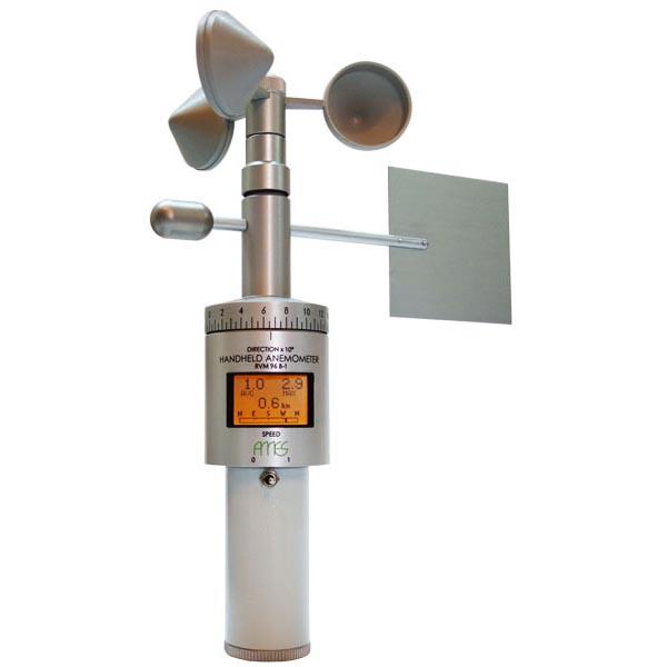 Ames - RVM 96B - Håndholdt anemometer med vindretning 1