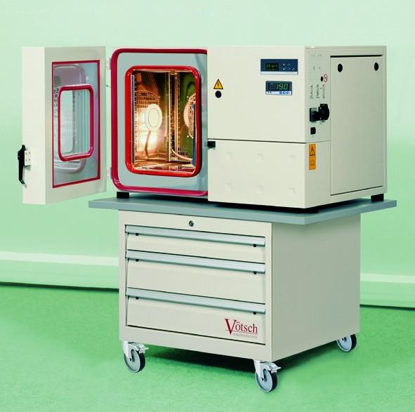 Vötsch - VTM/VTL/VCL -Temperaturskap og klimaskap, bordmodell 1