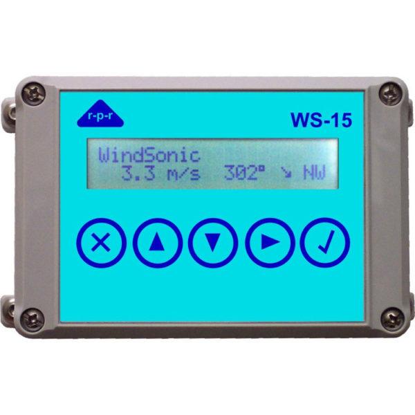 RPR - WS-15A - Display, vind og værstasjon RS232, RS422 tilkopling 1