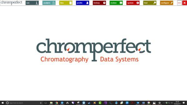 Chromperfect - SL - Kromatografi, dataprogram 7