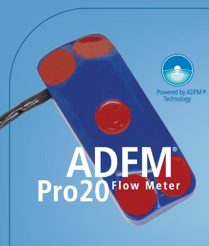 Teledyne Isco - ADFM Pro20 - Mengdemåler, store rør og kanaler 1