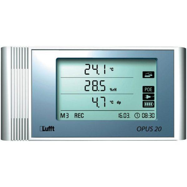 Lufft - OPUS 20 - OPUS20 datalogger for temperatur, fuktighet, trykk og CO2 1