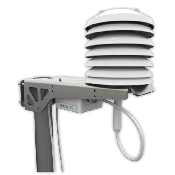 Gill Instruments - MetPak Base Station RG - Basestasjon med puls inngang for ekstern nedbørssensor: Temperatur Fuktighet Barometer Duggpunkt Modbus RTU 1