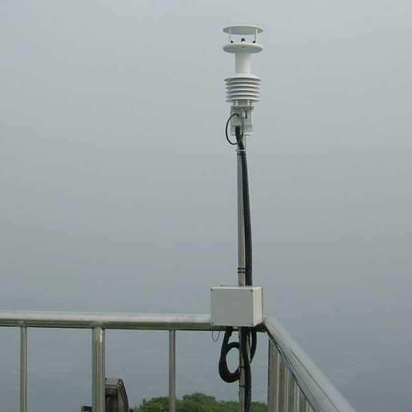 Gill Instruments - MetPak Pro - Proff værstasjon med 4 ekstra innganger: Temperatur Fuktighet Barometer Duggpunkt Modbus RTU 6