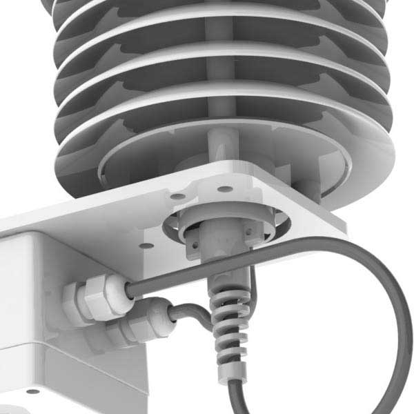 Gill Instruments - MetPak Pro - Proff værstasjon med 4 ekstra innganger: Temperatur Fuktighet Barometer Duggpunkt Modbus RTU 7