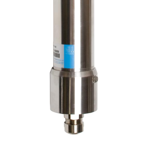 Gill Instruments - WindObserver 70 - Vindmåler, NMEA ultralyd i rustfritt stål med kraftig oppvarming IP66, WO70 3
