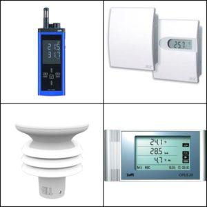 Temperatur og fuktighetsgivere