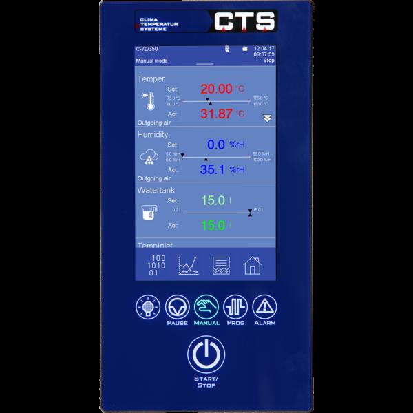 CTS Touchpanel klimaskap